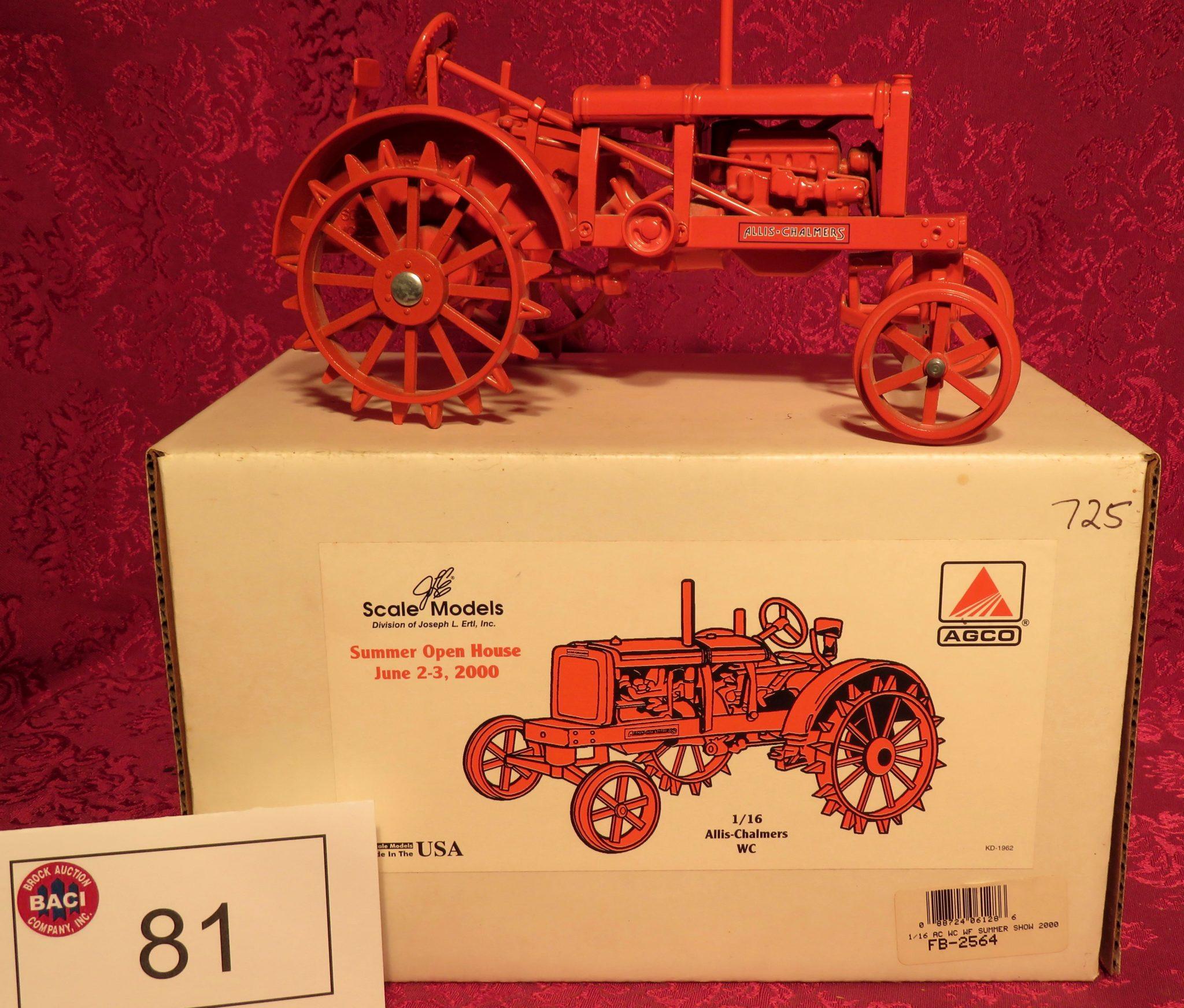 Large Toy Tractors & Misc  Collectibles Auction – Brock Auction